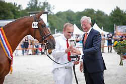 104 - Florosa <br /> Finale 3J Halfbloedmerrie<br /> KWPN Paardendagen Ermelo 2013<br /> © Dirk Caremans