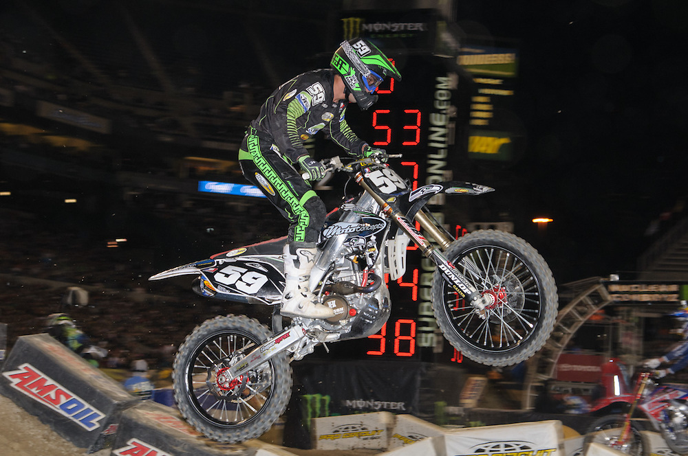 2012 AMA Supercross Series.Century Link Field.Seattle, Washington.April 21, 2021