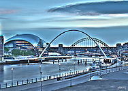 I took several exposures at ground level but was not getting the angle that would provide a true representation of a classic Newcastle (and Gateshead i should not forget!) scene, showing as many features as possible. In terms of framing I used a bit of the Baltic Mills to keep the eye from falling off the left of the image, but to give a hint that it is there while keeping the Eye and Sage as centre piece backed up by Tyne Bridge and Swing bridge. I took two long exposures of the scene and masked them together. Hopefully this has given a scene that is not just static, with the blurred movement of the Tyne, the boat, the clouds, plane trail and traffic to the far left. For those at uni when I was there in early 2000's fortunately or unfortunately the 'Boat' is no longer resident here!