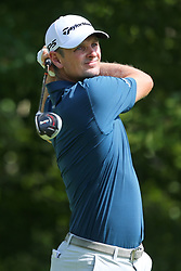 September 2, 2018 - Norton, Massachusetts, United States - Justin Rose tees off the 4th hole during the third round of the Dell Technologies Championship. (Credit Image: © Debby Wong/ZUMA Wire)