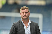 Oxford United Manager, Karl Robinson  during the EFL Sky Bet League 1 match between Portsmouth and Oxford United at Fratton Park, Portsmouth, England on 18 August 2018.