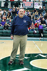 26 January 2019: Recognition of the IBCA Organization of they Year award during the McLean County Tournament at Shirk Center in Bloomington Illinois<br /> <br /> Charlie Hall
