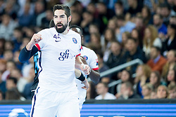 +p55+ during handball match between PPD Zagreb (CRO) and Paris Saint-Germain (FRA) in 11th Round of Group Phase of EHF Champions League 2015/16, on February 10, 2016 in Arena Zagreb, Zagreb, Croatia. Photo by Urban Urbanc / Sportida