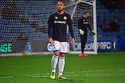 Queens Park Rangers defender Joel Lynch (6) warms up during the EFL Sky Bet Championship match between Queens Park Rangers and Derby County at Loftus Road, London, England on 14 December 2016. Photo by Jon Bromley.