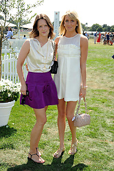Left to right, ARABELLA MUSGRAVE and LADY EMILY COMPTON at the Cartier International Polo at Guards Polo Club, Windsor Great Park on 27th July 2008.<br /> <br /> NON EXCLUSIVE - WORLD RIGHTS