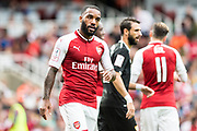 Arsenal forward Lacazette (9) during the Emirates Cup 2017 match between Arsenal and Sevilla at the Emirates Stadium, London, England on 30 July 2017. Photo by Sebastian Frej.
