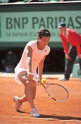 01.JUNE.2011. PARIS<br /> <br /> FRANCESCA SCHIAVONE AT THE TENNIS FRENCH OPEN 2011 AT ROLAND GARROS IN PARIS.<br /> <br /> BYLINE: EDBIMAGEARCHIVE.COM<br /> <br /> *THIS IMAGE IS STRICTLY FOR UK NEWSPAPERS AND MAGAZINES ONLY*<br /> *FOR WORLD WIDE SALES AND WEB USE PLEASE CONTACT EDBIMAGEARCHIVE - 0208 954 5968*
