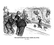 The Suffragette that Knew Jiu-Jitsu. The Arrest.