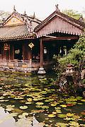 Queen mother's pleasure pavilion, Imperial Citadel. Hue, Vietnam