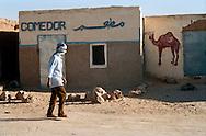 Febbraio 2012.The Saharawi refugee camp El Aayun..