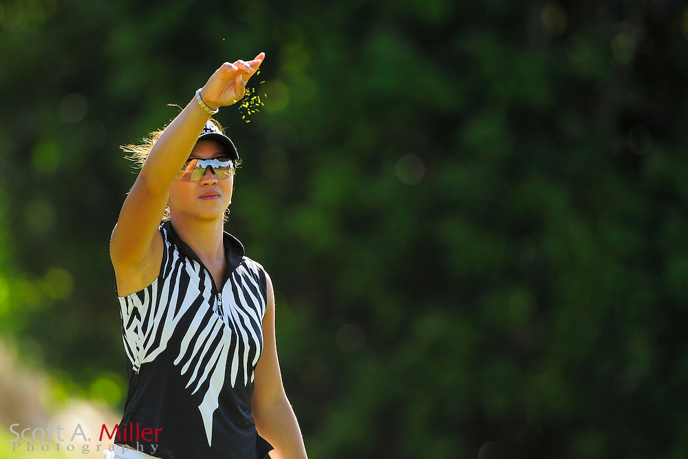 Frances Bondad during the final round of the Symetra Tour's Guardian Retirement Championship at Sara Bay in Sarasota, Florida April 28, 2013. ..©2013 Scott A. Miller