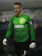 Picture by David Horn/Focus Images Ltd +44 7545 970036.11/12/2012.Daniel Bentley of Southend United during a penalty shoot out during the The FA Cup match at Roots Hall, Southend.