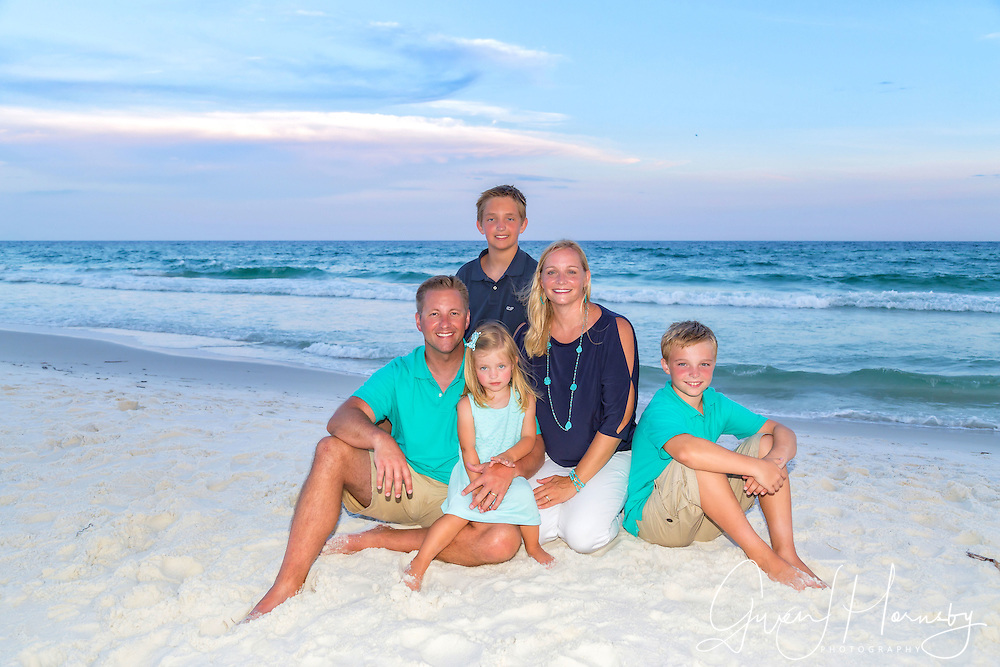 Family Beach Photos by Expressions Beach Portraits in Destin, Florida, Miramar Beach, Florida and Beaches of 30-A