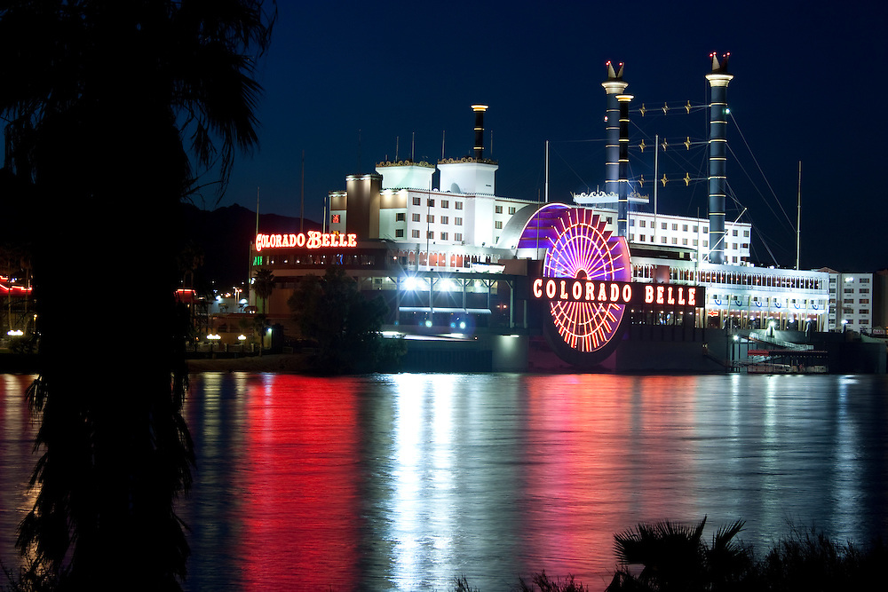 Colorado Belle riverboat casino at Laughlin, Nevada