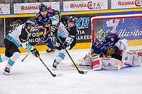 2019-11-27 | Rauma, Finland : Pelicans (81) Taavi Vartiainen goes for goal during the game between Lukko-Pelicans in Kivikylän Areena ( Photo by: Elmeri Elo | Swe Press Photo )