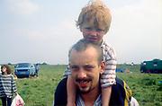 Ocky & James, The Mother Festival, Somerset, 1995