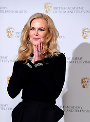 Nicole Kidman attending a photocall for Life In Pictures: Nicole Kidman BAFTA retrospective, held at the Princess Anne Theatre, London.