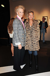 Private View of the Pavilion of Art & Design London 2010 held in Berkeley Square, London on 11th October 2010.<br /> Picture Shows:- Left to right, HRH PRINCESS MICHAEL OF KENT and PRINCESS CHANTAL OF HANOVER