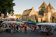 Village fete traditional festival in St Genies in the Perigord region,  France