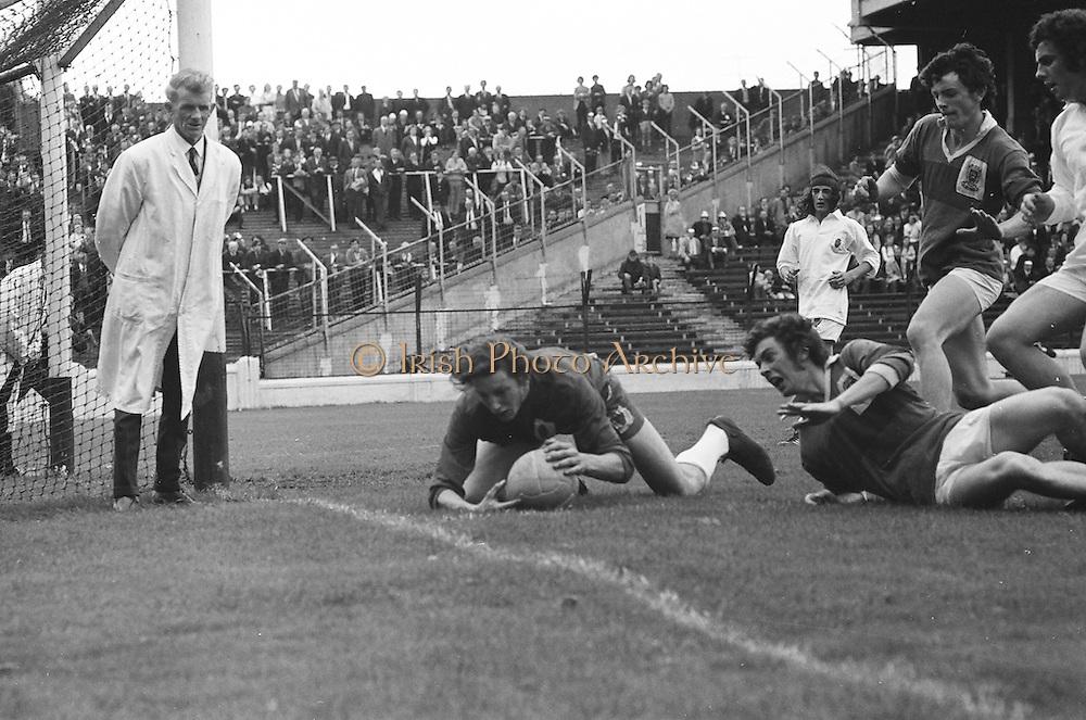 08.08.1971 Football All Ireland Junior Semi Final Mayo Vs Tyrone  All Ireland Minor Football Semi-Final. Meath v Tyrone. Croke Park, Dublin, 1972