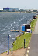 Nottingham, Great Britain, ENGLAND,  General view down the course showing the rough water, at the 2008 National Schools Regatta, Holme Pierrepont,  Saturday,  24/05/2008.  [Mandatory Credit:  Peter Spurrier/Intersport Images]