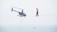 Nic Wallenda in AC on a high wire August 9, 2012