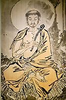 France, Paris (75), Musée Guimet, Sakyamuni ascète, Japon, époque Edo // France, Paris, Guimet museum, Ascetic Sakyamuni, Japan, Edo period