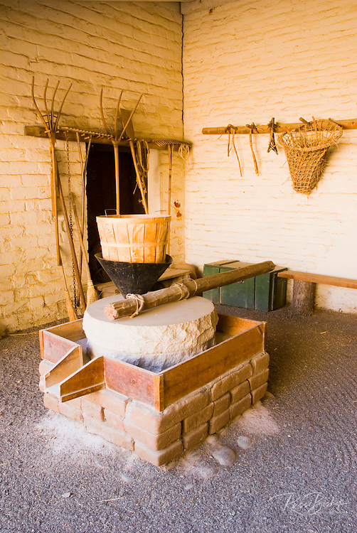The bakery, Sutter's Fort State Historic Park, Sacramento, California