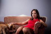 Claudia Aldana, Periodista y Escritora Chilena. Santiago de Chile, 22-04-16 (©Alvaro de la Fuente/Triple.cl)