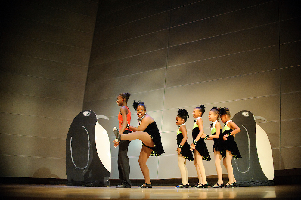 (photo by Matt Roth).Friday, June 18, 2010..Inertia Performing Arts' Spring Concert at MICA's Falvey Hall in the Brown Center...Boogie Wonderland, Movement Foundations