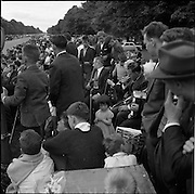 25/06/1961<br /> 06/25/1961<br /> 25 June 1961<br /> Rás Tailteann at Parnell Square, Dublin. The band waiting patiently for the finish.<br /> The Rás Tailteann is an annual 8-day international cycling stage race held in Ireland.