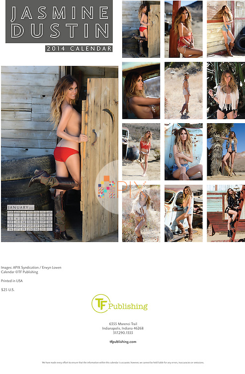 Jasmine Dustin | 2014 Calendar - limited edition offered exclusively by TF Publishing http://www.tfpublishing.com/products/2014-jasmine-dustin-wall-calendar<br />