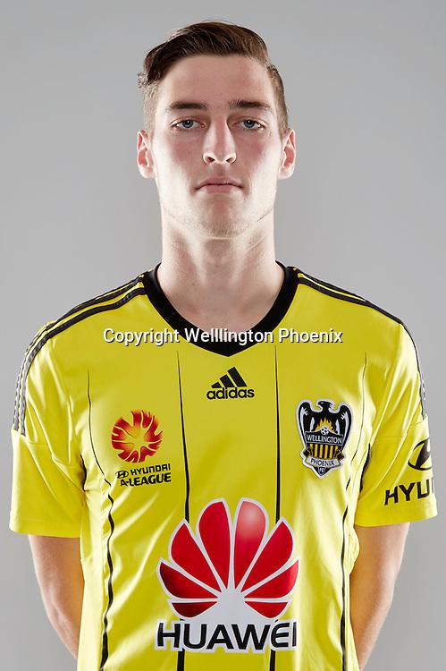 Matt Ridenton.<br /> Headshots of the Wellington Phoenix Football team for the Hyundai A-League 2016-17 season.