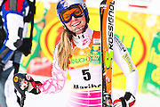 Lindsey VONN (USA) 4th place at FIS Alpine ski worldcup in Maribor. Golden fox trophy.