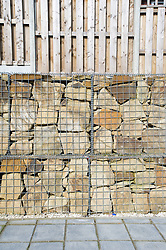 New build social housing showing Gabions, Yorkstone Place, Wybourn Estate, Sheffield