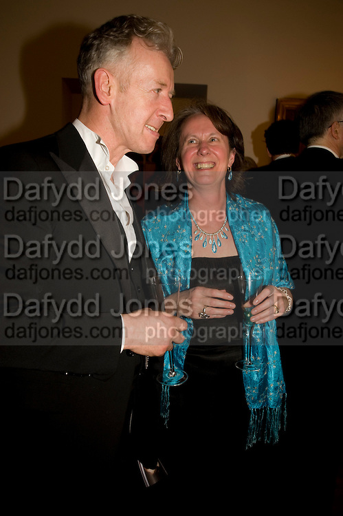 DAVID MACH; LESLEY MACH, National Portrait Gallery fundraising Gala in aid of its Education programme, National Portrait Gallery. London. 3 March 2009 *** Local Caption *** -DO NOT ARCHIVE-© Copyright Photograph by Dafydd Jones. 248 Clapham Rd. London SW9 0PZ. Tel 0207 820 0771. www.dafjones.com.<br /> DAVID MACH; LESLEY MACH, National Portrait Gallery fundraising Gala in aid of its Education programme, National Portrait Gallery. London. 3 March 2009