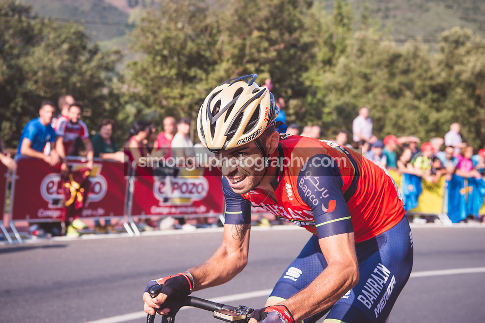 September 7th 2017, Suances to Santo Toribio de Liébana, Spain; Cycling, Vuelta a Espana Stage 18; Giovanni Visconti