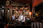 Portrait in a Bar. Cape Town South africa.