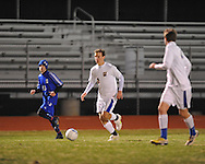 Oxford High vs. Saltillo in soccer action in Oxford, Miss. on Friday, January 13, 2012.
