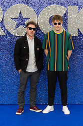 May 20, 2019 - London, England, United Kingdom - Sam Fender (R) arrives for the UK film premiere of 'Rocketman' at Odeon Luxe, Leicester Square on 20 May, 2019 in London, England. (Credit Image: © Wiktor Szymanowicz/NurPhoto via ZUMA Press)
