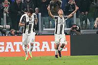 can - 28.02.2017 - Torino - Coppa Italia Tim  -  Juventus-Napoli nella  foto: Paulo Dybala esulta dopo il gol