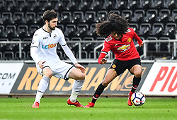Tahith Chong of Manchester United in action - Mandatory by-line: Craig Thomas/Replay images - 18/03/2018 - FOOTBALL - Liberty Stadium - Swansea, England - Swansea City U23 v Manchester United U23 - Premier League 2 - Divison 1