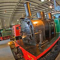 Alberto Carrera, Asturias Railway Museum, Museo del Ferrocarril de Asturias, Gij&oacute;n, Asturias, Spain, Europe<br /> <br /> EDITORIAL USE ONLY