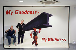 Kay Liddiard and Dawn Byrne from North Carolina U.S.A. are pictured at the Guinness Storehouse, celebrating talent and creativity on Arthur's Day 2013. Picture Andres Poveda