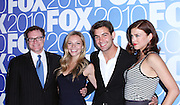 David Keith, Eloise Mumford, James Wolk and Adrianne Palicki pose at the Fox 2010 Upfronts after-party at Wollman Rink in New York City on May 17, 2010...