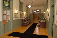 Gilmanton Academy open house after renovations.  Karen Bobotas for the Laconia Daily Sun