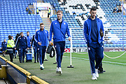 Ipswich Town players arrive ahead of the EFL Sky Bet League 1 match between Portsmouth and Ipswich Town at Fratton Park, Portsmouth, England on 21 December 2019.