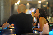 01.SEPTEMBER.2009 - LONDON<br /> <br /> EX-SPICE GIRL MEL B AND AND HUSBAND STEPHEN BELAFONTE SITTING AT THE BAR OF THE MAYFAIR HOTEL FOR 2 HOURS DRINKING AND TALKING TO FELLOW DRINKERS AND HAVING HER PICTURE TAKEN WITH THEM BEFORE MEL STARTED PLANTING KISSES ON PEOPLE BUT SAVED A BIG SNOG FOR HUSBAND STEPHEN BEFORE LEAVING AND GOING UP TO THEIR ROOM A LITTLE BIT WORSE FOR WEAR.<br /> <br /> BYLINE: BLOOMS/EDBIMAGEARCHIVE.COM<br /> <br /> *THIS IMAGE IS STRICTLY FOR UK NEWSPAPERS & MAGAZINES ONLY*<br /> *FOR WORLDWIDE SALES OR WEB USE PLEASE CONTACT EDBIMAGEARCHIVE - 0208 954 5968*