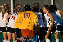 The Virginia Cavaliers field hockey team faced the Radford Highlanders at the University Hall Turf Field in Charlottesville, VA on October 10, 2007.