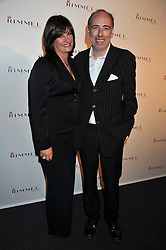 MICK JONES and MIRANDA JONES at a party hosted by Rimmel London to celebrate the 10 year partnership with Kate Moss held at Battersea Power Station, London SW8 on 15th September 2011.